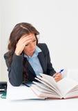 Attraktive Geschäftsfrau Lizenzfreies Stockfoto