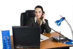Attraktive Geschäftsfrau Lizenzfreie Stockfotografie