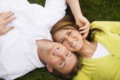 Attraktive glückliche Paare Stockbilder