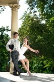 Attraktive Hochzeitspaare Stockfotos