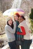 Attraktive junge Frauen Stockfotografie