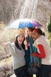 Attraktive junge Frauen Lizenzfreies Stockfoto