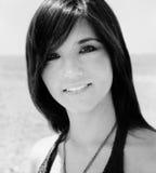 Attraktive junge hispanische Dame stockfotos