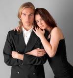 Attraktive junge Paare Lizenzfreies Stockbild