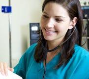 Attraktive Krankenschwester Lizenzfreies Stockbild
