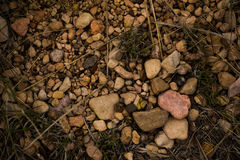 Attraktive Mischung von Felsen Stockbilder