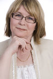 Attraktive mittlere gealterte Frau Lizenzfreies Stockbild