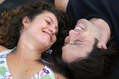 Attraktive Paare Lizenzfreies Stockfoto
