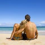 Attraktive Paare. Lizenzfreies Stockfoto