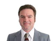 Attraktiver 40 YO Geschäftsmann Headshot Lizenzfreie Stockfotos