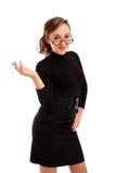 Attraktiver Geschäftsfraurauch Lizenzfreie Stockfotografie