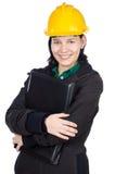 Attraktiver junger Ingenieur Stockbild