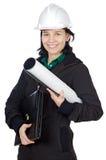 Attraktiver junger Ingenieur Lizenzfreies Stockfoto