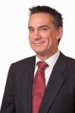 Attraktiver Mittelalter-Geschäftsmann in der Klage mit Ch Lizenzfreies Stockfoto