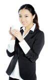 Attraktives asiatisches Mädchen 20 Jahre alte Schuss im Studio Stockfotografie