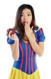 Attraktives asiatisches Mädchen 20 Jahre alte Schuss im Studio Stockfotos