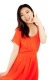 Attraktives asiatisches Mädchen 20 Jahre alte Schuss im Studio Lizenzfreie Stockfotografie