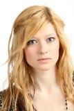 Attraktives blondes Mädchen Stockfotos