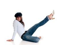 Attraktives femme fatale Lizenzfreies Stockfoto
