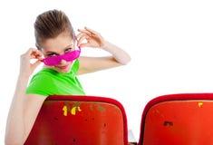 Attraktives kaukasisches Mädchen in ihren 30 schoss im Studio Stockfoto