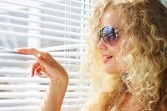 Attraktives Mädchen Stockfoto