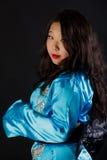 Attraktives orientalisches Mädchen Lizenzfreies Stockfoto