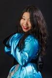 Attraktives orientalisches Mädchen Lizenzfreie Stockbilder