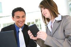 Attraktives verschiedenes Geschäfts-Team lizenzfreies stockfoto