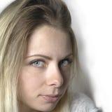 attraktivt blont barn Fotografering för Bildbyråer