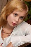 attraktivt flickabarn Arkivbilder