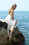 attraktivt kvinnabarn Royaltyfria Foton