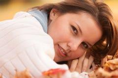 attraktivt kvinnabarn Fotografering för Bildbyråer