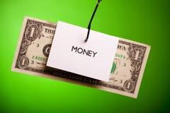 Attrapez l'argent ! Image stock