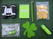 Attrapez un kit de lutin Photographie stock
