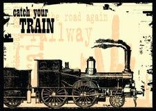 Attrapez votre train Photo libre de droits