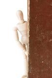 Attrappe mit altem Buch Lizenzfreie Stockfotografie