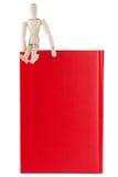 Attrappe mit den Büchern Lizenzfreie Stockfotos