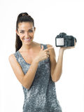 Attrative photographer Stock Photos