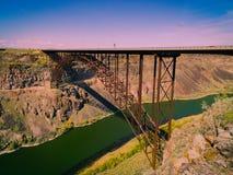 Attraversamento del fiume Snake fotografia stock