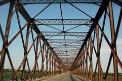 Attraversamento del ponte Immagini Stock Libere da Diritti