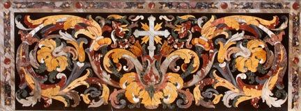 Attraversi, dettaglio dell'altare, cattedrale di Ragusa Fotografia Stock Libera da Diritti