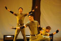 Attraverso il partito di concerto di graduazione della classe di dancing space-2011 e di tempo Immagine Stock Libera da Diritti