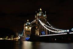 Attraverso il ponte Immagine Stock