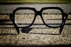 Attraverso il vetro Immagini Stock