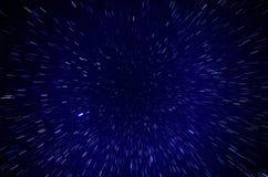 Attraverso le stelle Immagine Stock