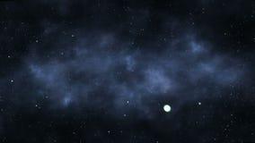 Attraverso lo spazio cosmico video d archivio