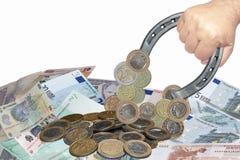 Attrazione dei soldi fotografie stock libere da diritti