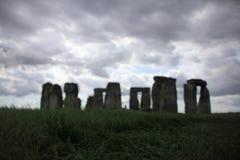 Attrazione, Stonehenge sulla pianura di Salisbury Wiltshire in Inghilterra immagine stock libera da diritti