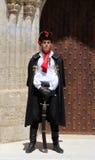 Attrazione turistica di Zagabria/guardia reggimento del foulard Immagini Stock Libere da Diritti