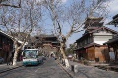 Attrazioni di Hangzhou Fotografie Stock Libere da Diritti